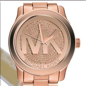 Micheal Kors Crystal watch